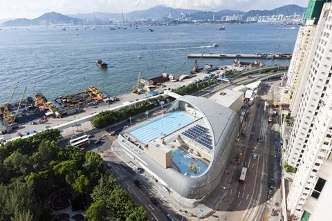Farrells' Kennedy Town swimming pool in Hong Kong